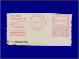 """Cinéma - Année: 1955 - MEXIQUE,BAN. MEXICO:""""Metro Goldwyn Mayer,Compania Amiga"""" - Cinema"""