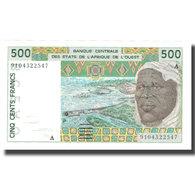 Billet, West African States, 500 Francs, 1991-2002, KM:110Aa, NEUF - États D'Afrique De L'Ouest
