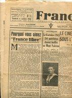 Le Cinéma Français Sous L'Occupation Octobre 1944 - Other