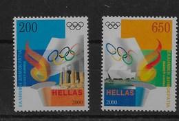Serie De Grecia Nº Yvert 2031/32 ** DEPORTES (SPORTS) - Grecia