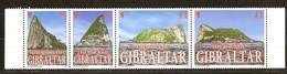 Gibraltar 2002 Yvertn° 1015-1018 *** MNH Cote 13 Euro The Rock Le Rocher - Gibraltar