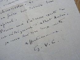 Pierre Felix FIX MASSEAU - Autographes