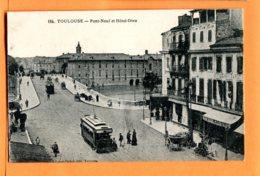 MOL315, Toulouse, Pont-Neuf Et Hôtel-Dieu, Tramway, 184, Circulée 1919 Sous Enveloppe - Toulouse
