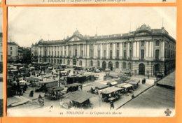 MOL323, Toulouse, Le Capitol Et Le Marché, 44, Circulée 1919 Sous Enveloppe - Toulouse