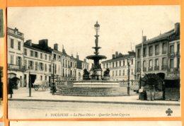 MOL332, Toulouse, La Place Olivier, Quartier Saint-Cyprien, 8, Circulée 1919 Sous Enveloppe - Toulouse