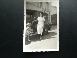 """CHAMPS DE TABAC Et ENSEIGNE """"TABAC DE LA SEMOIS"""" À POUPEHAN BOUILLON LUXEMBOURG WALLONIE BELGIQUE 15 PHOTOS 1930 - 1950 - Lieux"""