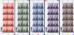 Belgium PF 3695/99** Albert II  MNH - Neufs