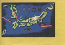 2394 - JAPON *carte Géographique * TOKYO *JEUX OLYMPIQUES 1940 * Exposition Internationale * Assez Rare - Giochi Olimpici