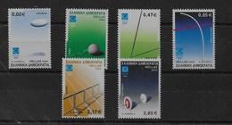 Serie De Grecia Nº Yvert 2114/19 ** DEPORTES (SPORTS) - Grecia