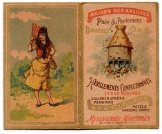 Bordeaux (33 Gironde) Calendrier MAISON DES ABEILLES 1892 (¨PPP17427) - Calendars
