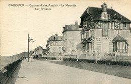 """Cpa 14 Cabourg Bard Des Anglais """"Villas La Mouette--les Brisants"""" - Cabourg"""