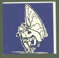 CARTE POSTALE DOUBLE ASTERIX ET OBELIX EDITIONS ALBERT RENE 2014 BY COMIC ART LTD - Bandes Dessinées