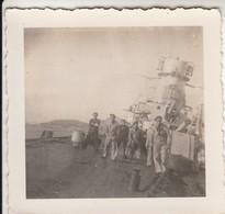 NAVE MILITARE MILITARY SHIP - FOTO ORIGINALE - Guerra, Militari