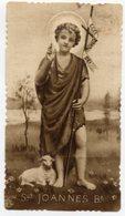 Santino Antico SAN JOANNES BATTISTA Serie Seppia (Eb 12) - OTTIMO R2 - Religion &  Esoterik