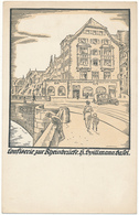 BALE, BS - Confiserie H. Spillmann - BS Bâle-Ville