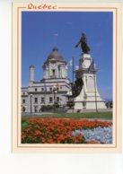 Piece Sur Le Theme De Canada - Quebec - Monument Champlain Vieux Quebec - Non Voyagee - Quebec