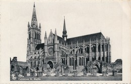 CP - Belgique - Leper - Ypres - Cathédrale St. Martin - Ieper