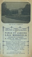 LEUVEN - LOUVAIN : Parc Du LOO A Corbeek-Loo   (  21.5  X 12.5 Cm )  Léon Rossels Architecte ( See Scan ) - Buvards, Protège-cahiers Illustrés