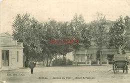 WW 06 ANTIBES. Hôtel Terminus Avenue Du Port 1915 - Antibes - Vieille Ville