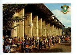 Piece Sur Le Theme De Cote D Ivoire - Abidjan - Le Marche De Treicheville - Voyagee En 1974 - Côte-d'Ivoire