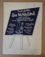 Piece Sur Le Theme De Partition Musicale - Six Recreations - Scores & Partitions