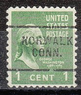 USA Precancel Vorausentwertung Preo, Locals Connecticut, Norwalk 703 - Vereinigte Staaten