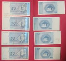 BOSNIE-HERZEGOVINE  4 Billets De 50 Konvertibli Pfeniga  1998 Alphabet A Entité Serbe - Bosnie-Herzegovine