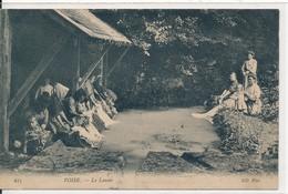 Voise (28 - Eure Et Loir) Le Lavoir - Laveuses Lavandières - édit ND Phot N° 615 Circulée 1907 - France