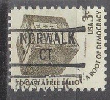 USA Precancel Vorausentwertung Preo, Locals Connecticut, Norwalk 839 - Vereinigte Staaten