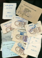 Piece Sur Le Theme De Lettre De Saint Cloud Comportant Un Blason Particulier A Une Famille - En Français - Tickets D'entrée
