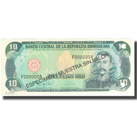 Billet, Dominican Republic, 10 Pesos Oro, 1997, 1997, Specimen, KM:153s, NEUF - Dominicaine