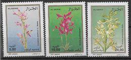 2000 ALGERIE 1266-68** Fleurs, Orchidées - Algérie (1962-...)