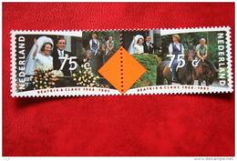 25 Jaar Huwelijksfeest NVPH 1466-1467 (Mi 1400-1401); 1991 POSTFRIS / MNH ** NEDERLAND / NIEDERLANDE - 1980-... (Beatrix)