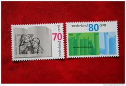 Bibliotheekwerk Book NVPH 1481-1482 (Mi 1421-1422); 1991 POSTFRIS / MNH ** NEDERLAND / NIEDERLANDE - 1980-... (Beatrix)