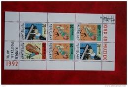 Blok Kinderzegels Kind Child Welfare Enfant NVPH 1541 (Mi Block 37); 1992 POSTFRIS / MNH ** NEDERLAND / NIEDERLANDE - 1980-... (Beatrix)