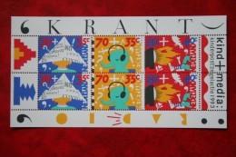 Blok Kinderzegels Kind Child Welfare Enfant NVPH 1578 (Mi Block 39); 1993 POSTFRIS / MNH ** NEDERLAND / NIEDERLANDE - 1980-... (Beatrix)