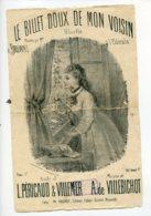 Piece Sur Le Theme De Partition Musicale - Le Billet Doux De Mon Voisin - Scores & Partitions