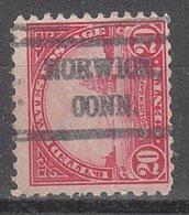 USA Precancel Vorausentwertung Preo, Locals Connecticut, Norwich 567-527 - Vereinigte Staaten