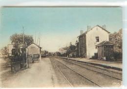 CPSM 03 Allier Noyant La Gare - France