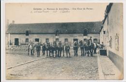 Ecrosnes - Hameau De Joinvilliers (28 - Eure Et Loir) Une Cour De Ferme - Chevaux De Trait - édit Joffré - Frankrijk