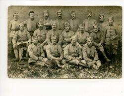 Piece Sur Le Theme De Cp - Photographie Ancienne - Militaires Au Front - Militaria