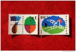 Dag Van De Postzegel Vogel Bird Oiseaux NVPH 1573-1574 (Mi 1490-1491); 1993 POSTFRIS / MNH ** NEDERLAND / NIEDERLANDE - 1980-... (Beatrix)