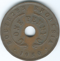 Southern Rhodesia - George VI - 1950 - Penny - KM25 - Rhodésie
