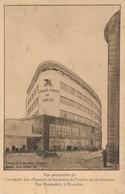 CPA - Belgique - Bruxelles - Vue Perspective De L'immeuble Des Assurances Générales De Trieste - Monuments