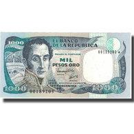 Billet, Colombie, 1000 Pesos Oro, 1992, 1992-01-31, KM:432A, NEUF - Colombie