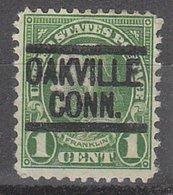 USA Precancel Vorausentwertung Preo, Locals Connecticut, Oakville 632-548, Stamp Thin - Vereinigte Staaten