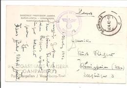 Ostmark-Voralberg-Schruns Feldpost 1942 - Deutschland