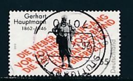 GERMANY Mi.Nr. 2963 150. Geburtstag Von Gerhart Hauptmann - Used - BRD