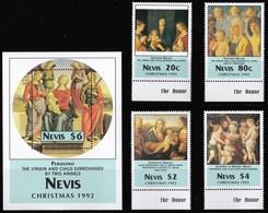 NEVIS 1992 NATALE - St.Kitts E Nevis ( 1983-...)