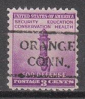 USA Precancel Vorausentwertung Preo, Locals Connecticut, Orange 716 - Vereinigte Staaten